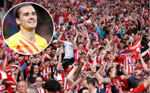 Atletico Madrid 'face stadium closure' after fans aim 'Griezmann die' chants at their former player during defeat by Barcelona at the weekend - Bóng Đá