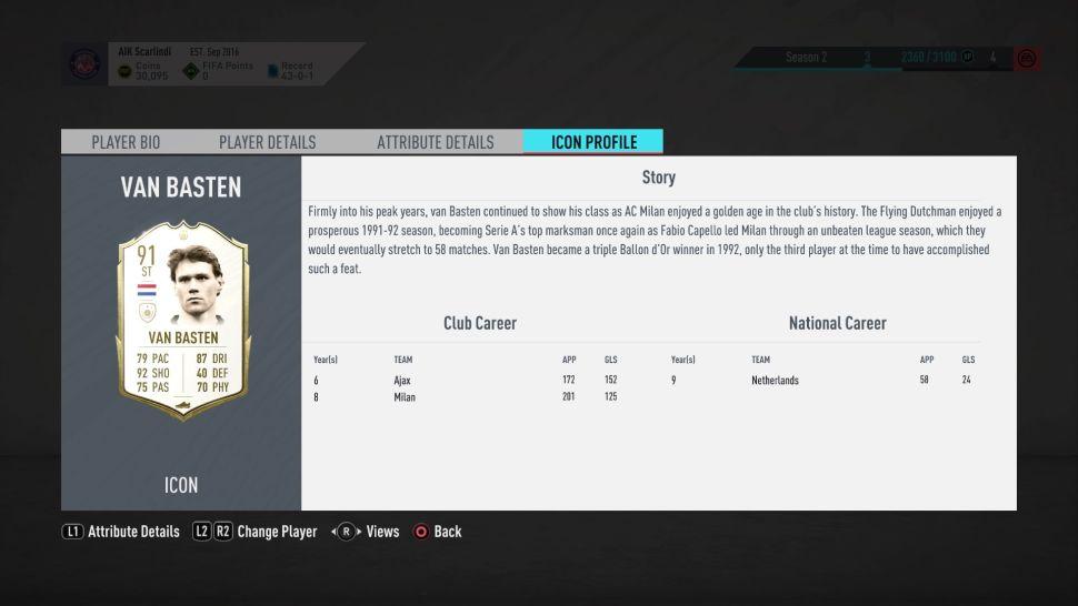 Van Basten removed from FIFA 20 game after making Nazi comment - Bóng Đá
