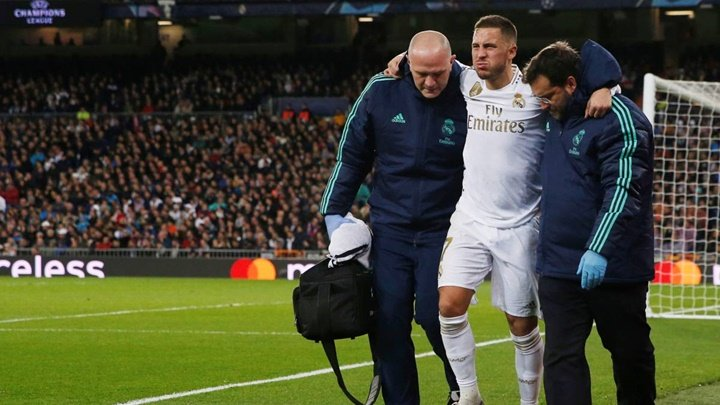 Real Madrid star Eden Hazard out of El Clasico - Bóng Đá