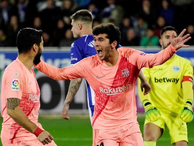 Barcelona to send Carlos Alena on loan to Getafe? - Bóng Đá