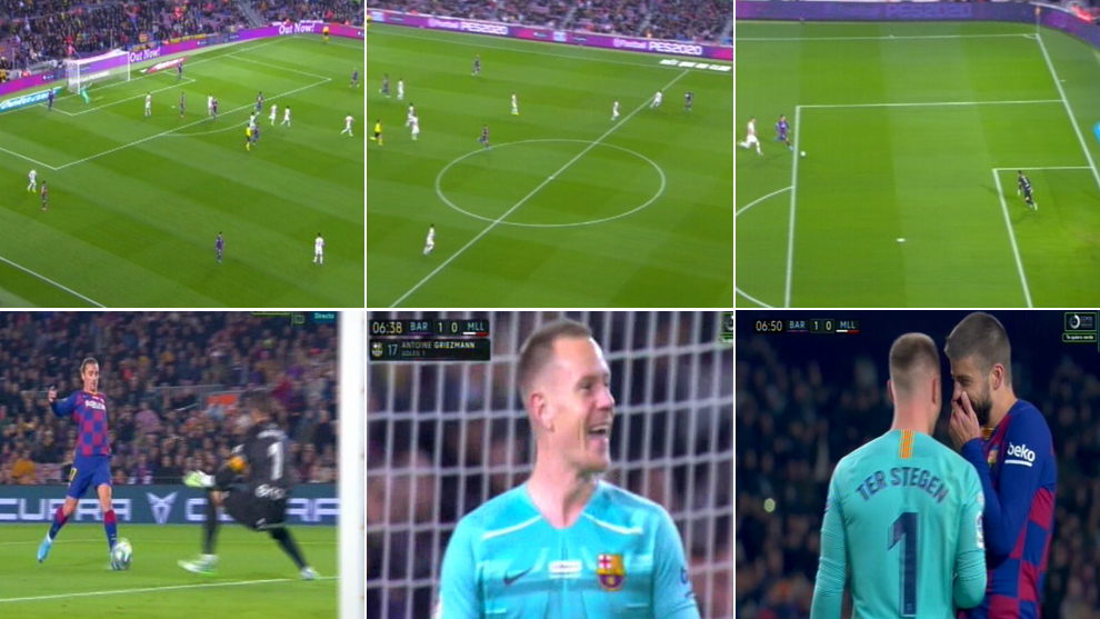 Ter Stegen gets his second assist of the season - Bóng Đá