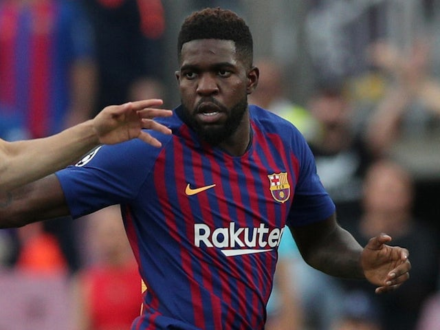 Manchester City to bid for Barcelona defender Samuel Umtiti in January? - Bóng Đá