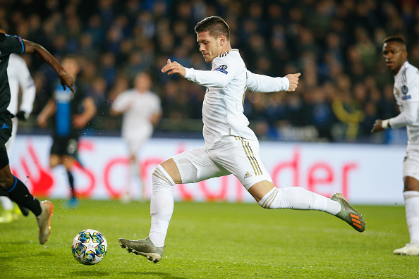 Real Madrid had three shots in the opening 45 minutes against Club Brugge - Bóng Đá
