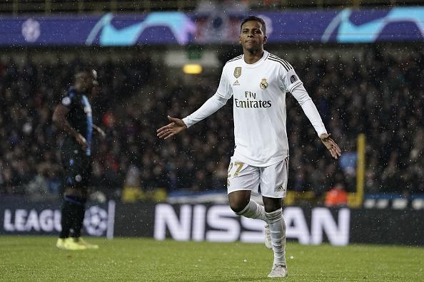 Rodrygo Goes có 6 bàn thắng sau 8 cú sút trúng mục tiêu - Bóng Đá