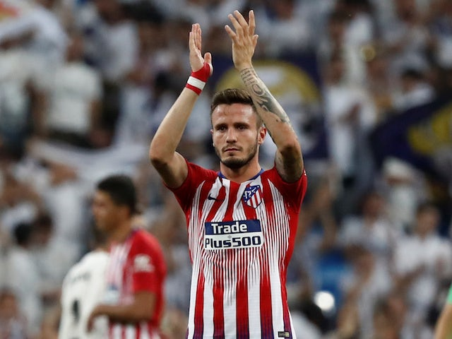 Atletico Madrid 'will consider £85m bid for Man United target Saul Niguez' - Bóng Đá