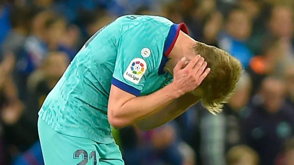 De Jong: If you give the first penalty, you have to give the one on Pique - Bóng Đá