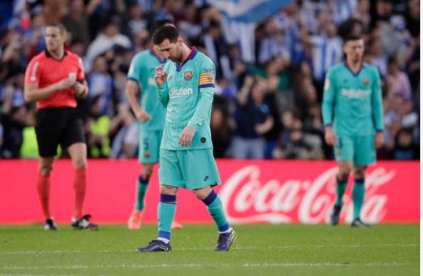 Phản ứng của Messi sau trận - Bóng Đá