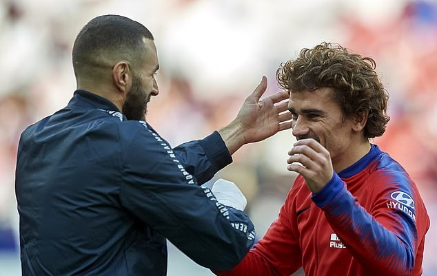 'People doubt him... he's one of the best No 9s out there': Antoine Griezmann showers Karim Benzema with praise ahead of El Clasico - Bóng Đá