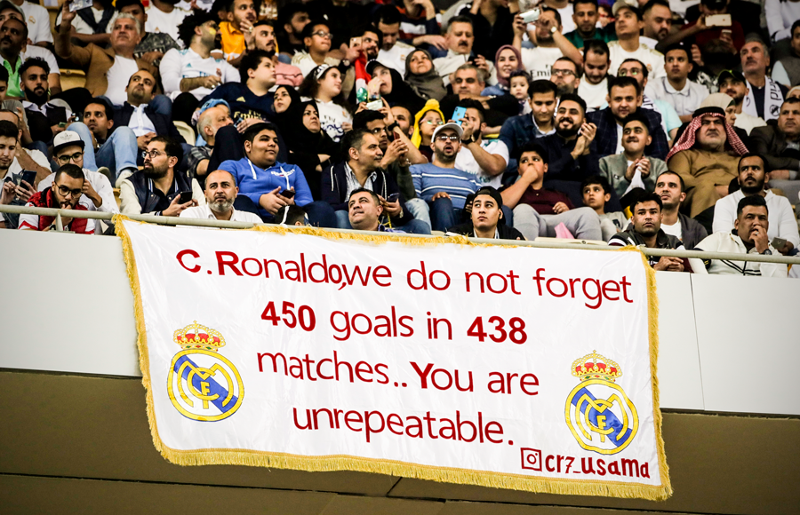 Fan Real  have a message for Cristiano Ronaldo… - Bóng Đá
