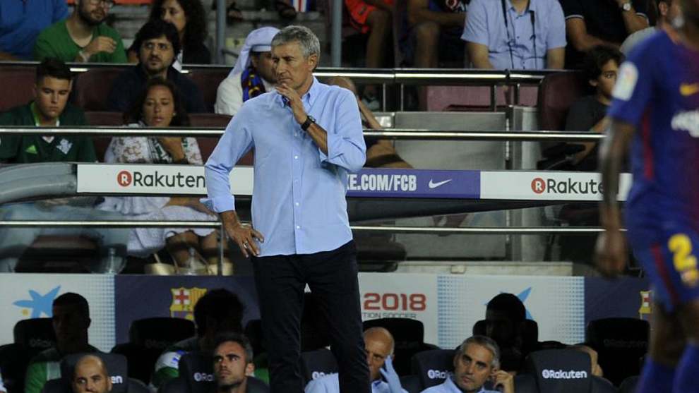 The day Barcelona fell in love with Quique Setien - Bóng Đá