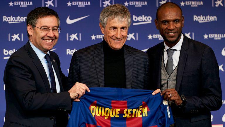Quique Setien was Barcelona's fourth choice to replace Ernesto Valverde, says Graham Hunter - Bóng Đá