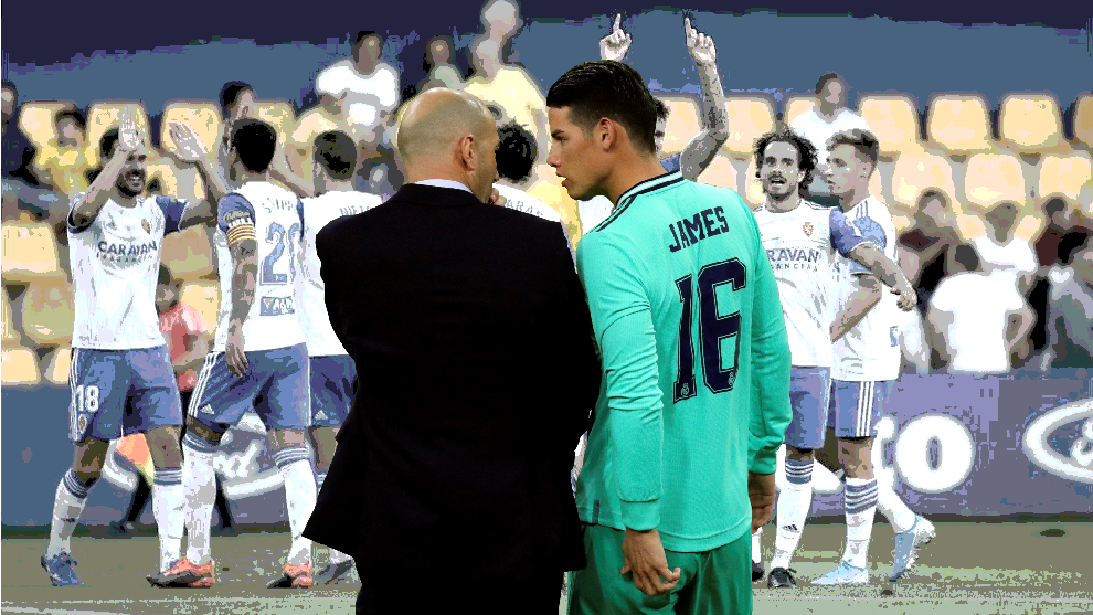 James Rodriguez is looking for a sign from Zidane - Bóng Đá