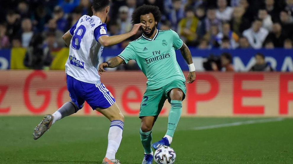 Zidane's fury with Marcelo - Bóng Đá