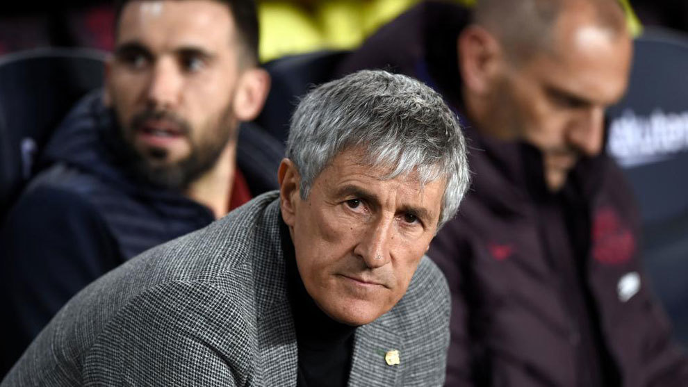Setien: Sign a striker? Dembele is returning from injury - Bóng Đá
