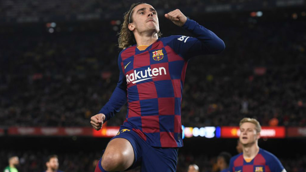 Griezmann: I'm here to help if I'm needed as a No.9 - Bóng Đá