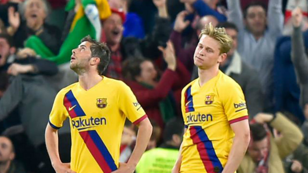 Barcelona fall apart in the closing stages of matches - Bóng Đá
