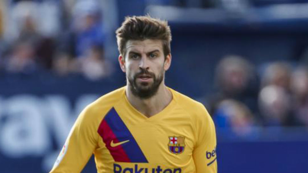 Pique's countdown: He's still not training with the group - Bóng Đá