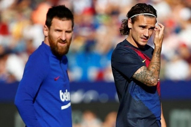 Messi and Griezmann: It's time to step up - Bóng Đá