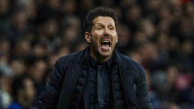 Simeone: In my eight years at Atletico, I hadn't seen a reception like that - Bóng Đá