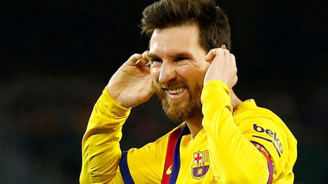 Mendilibar: That Messi b*stard rests during games - Bóng Đá