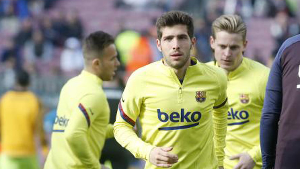 Sergi Roberto out for three to four weeks - Bóng Đá