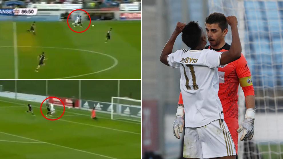 Real Madrid  Rodrygo picks up bizarre red card with Castilla and will miss El Clasico - Bóng Đá