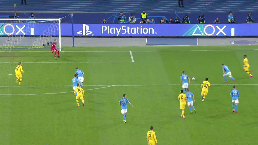 Busquets' perfect pass to tee up Barcelona's goal - Bóng Đá
