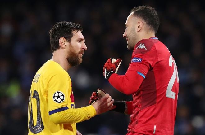 Messi's booking puts him at risk - Bóng Đá