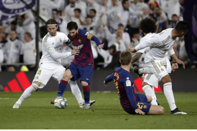 Sergio Ramos may have played last Clasico - Bóng Đá