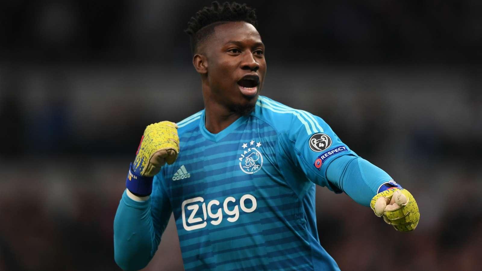 Ajax 'put £35m price tag on Barcelona, Chelsea target Andre Onana' - Bóng Đá