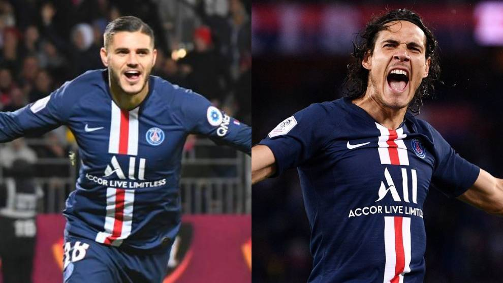 Inter and PSG begin talks over Icardi-Cavani swap - Bóng Đá
