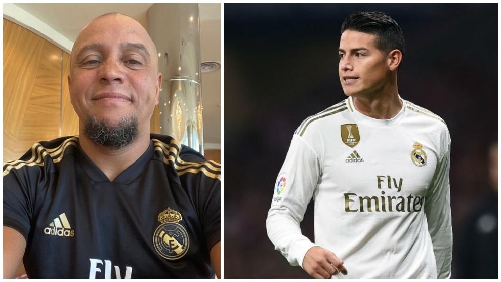Roberto Carlos: I urge James Rodriguez to be patient, Zidane respects him - Bóng Đá