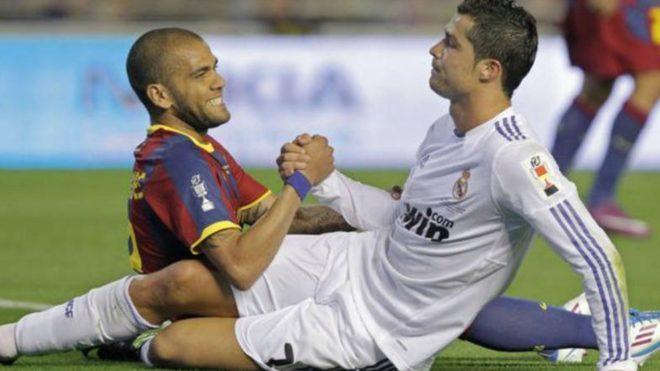 Dani Alves: The most difficult opponent I've faced was Cristiano Ronaldo - Bóng Đá
