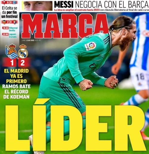 Papers react as Barcelona lose La Liga lead - Bóng Đá
