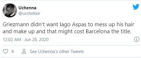 Fan Barca reacts on Grizi - Bóng Đá