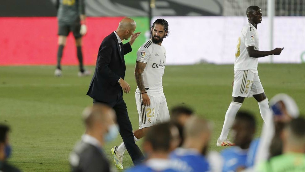 Zidane: Real Madrid defeated Getafe through team spirit - Bóng Đá
