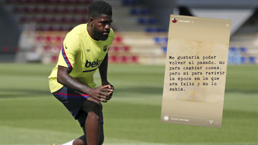 Umtiti: I'd like to go back to when I was happy and didn't know it - Bóng Đá