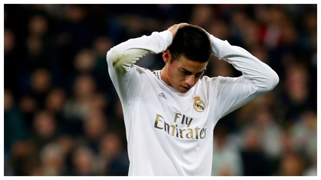Real Madrid will forced to sell James for a cut-price fee - Bóng Đá