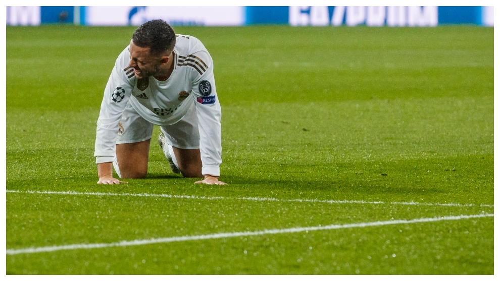 Hazard's ankle problem returns - Bóng Đá