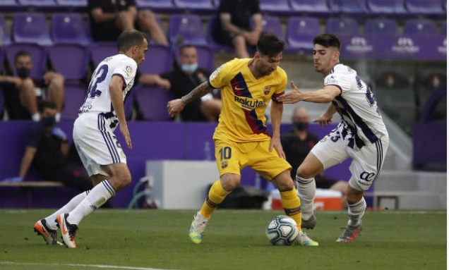 Messi sets new La Liga record for goals and assists during Barcelona's clash at Real Valladolid - Bóng Đá