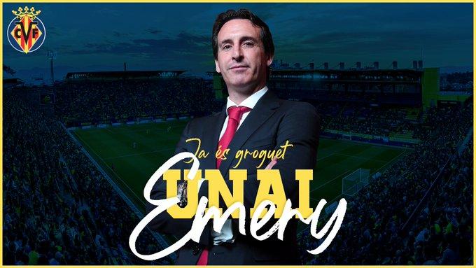Official: Villarreal appoint Unai Emery as head coach - Bóng Đá