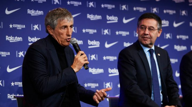 Bartomeu: Setien has a contract for next season - Bóng Đá