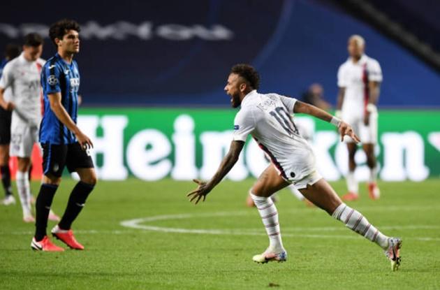 Neymar matches Messi with Champions League feat against Atalanta - Bóng Đá
