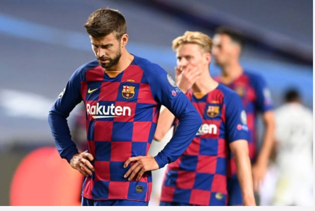 Pique: Disgrace is the word, I'll leave if I have to - Bóng Đá