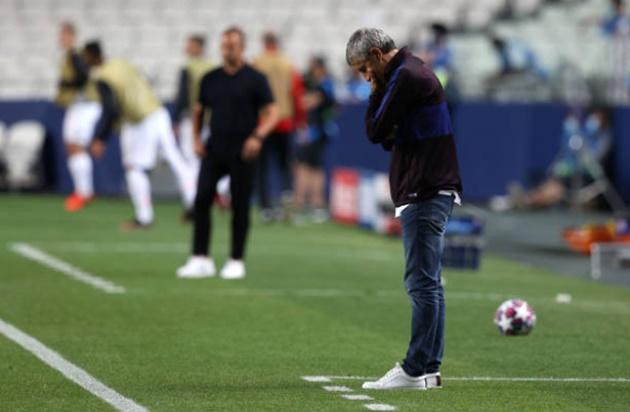 Barcelona sacked Quique Setien - Bóng Đá