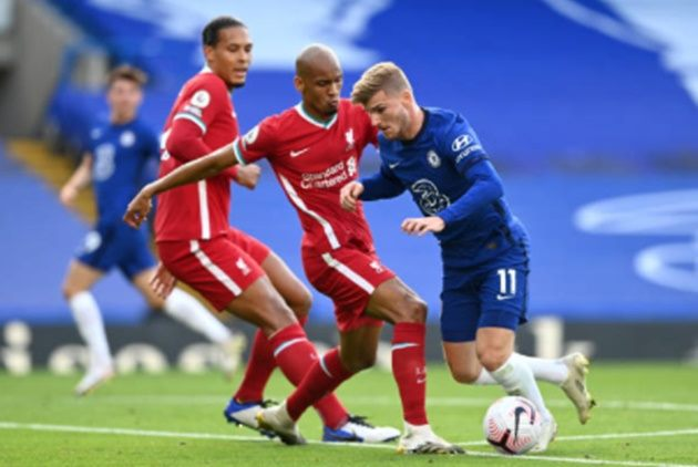 TRỰC TIẾP Chelsea 0-0 Liverpool: Werner suýt mở điểm. - Bóng Đá