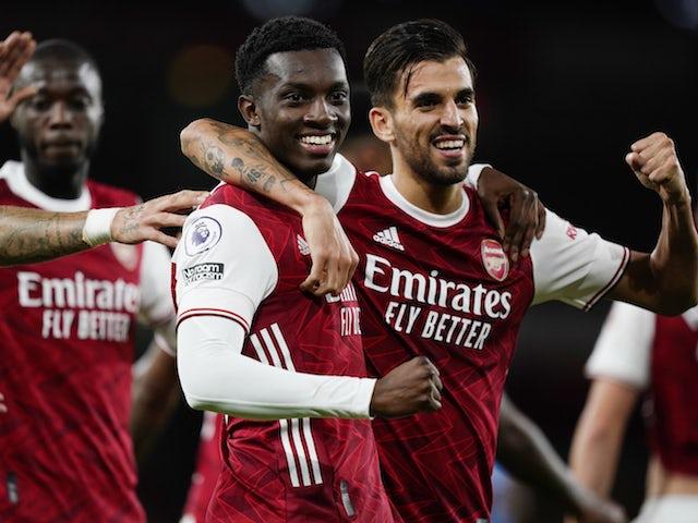 Eddie Nketiah: 'Arsenal want to be challenging for trophies' - Bóng Đá