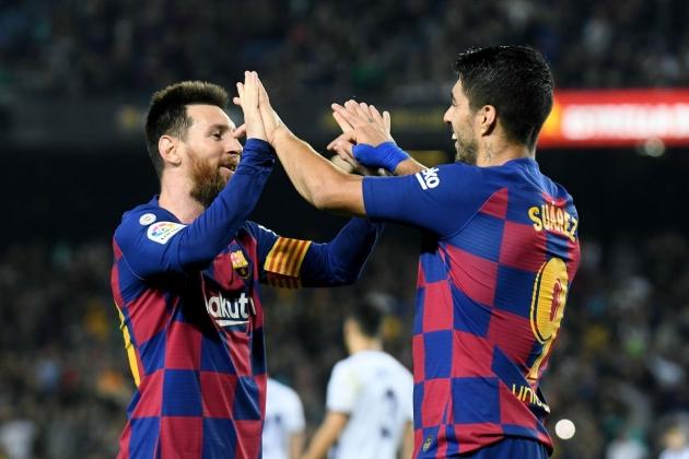 Luis Suarez's response to Lionel Messi's message - Bóng Đá