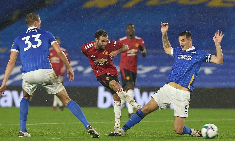 Manchester United confirm stance on Juan Mata future after Brighton win - Bóng Đá