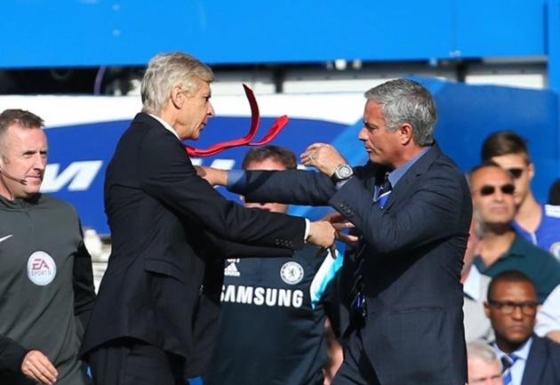 """Nc247info tổng hợp: Mourinho: """"Wenger không bao giờ thắng được tôi"""""""
